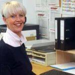 Maléne Liedloff ist unsere Schulsekretärin an der Blote-Vogel-Schule in Witten.