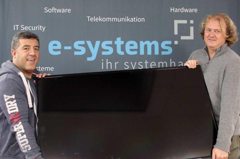 Blote Vogel Schule Witten Monitor Spende e-systems